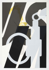 'Virus Print 2 of 8', 2009, silkscreen print onto 300gsm Somerset Satin White Paper, 46x70 cm